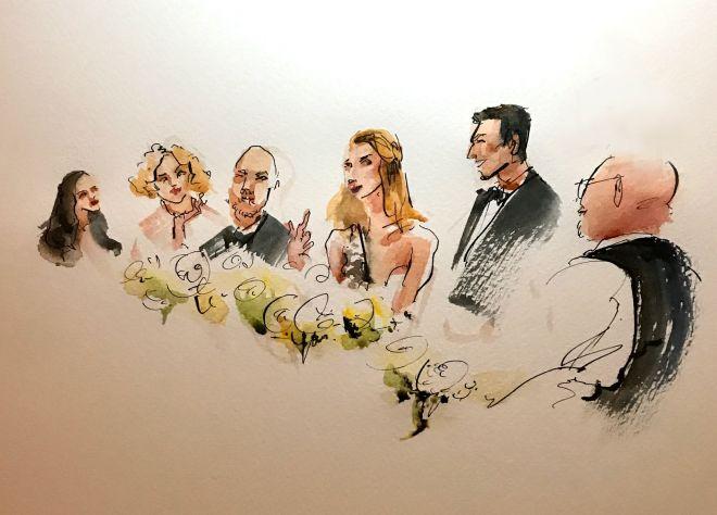 live-wedding-illustration-artist-painter-dinner-sketch
