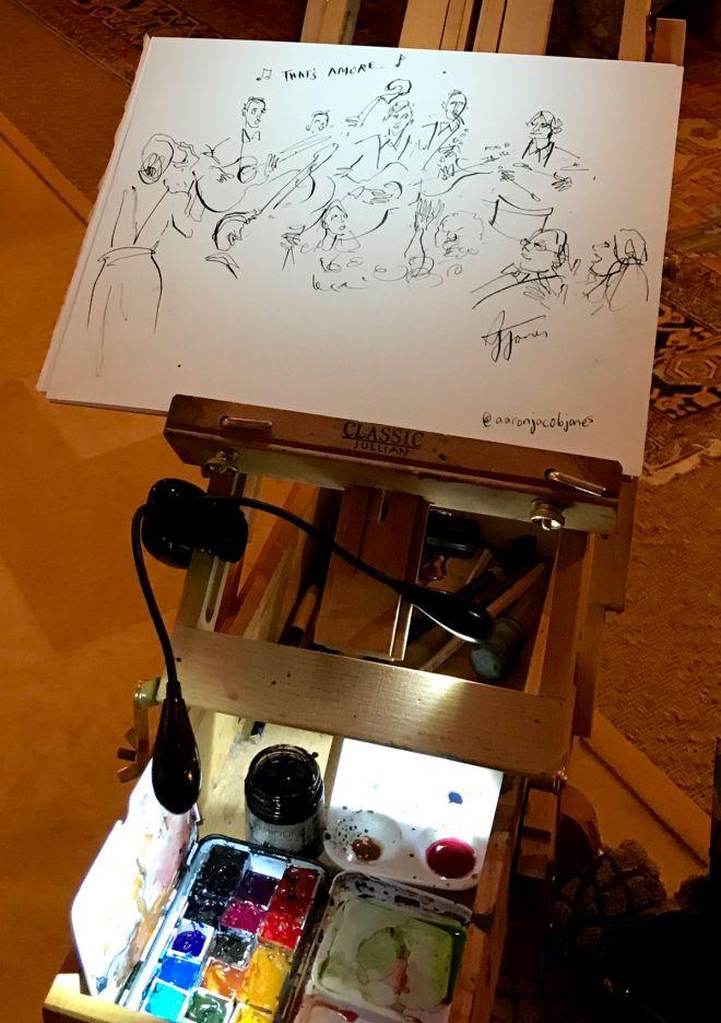 live-wedding-party-illustrator-london-uk-artist-painter